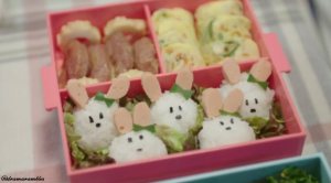 cutest rice balls i've ever seen
