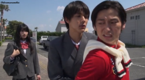 ooh shunichi showing who is boss