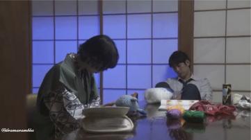 sleeping fuyuno is cute