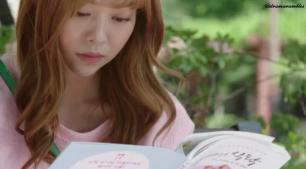the book looks so pretty
