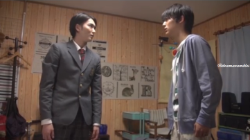 showdown in which Shunichi acts dumb