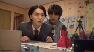 shunichi is like please we were having a moment