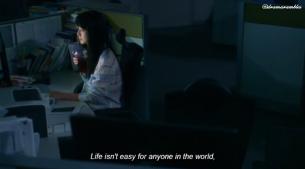she must work hard