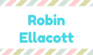 Yellow Black and White Grid Name Tag (3)