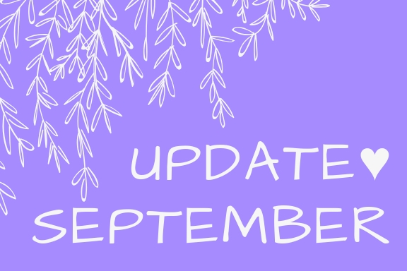 September || Life/Blog Update