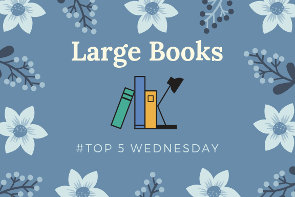 Largest Books on My TBR |📚| #T5W