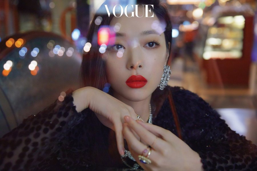 Sulli x Vogue Korea || 22.10.2018