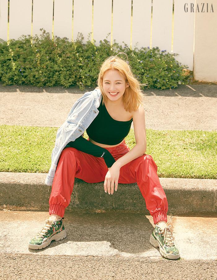 hyoyeon grazia 6