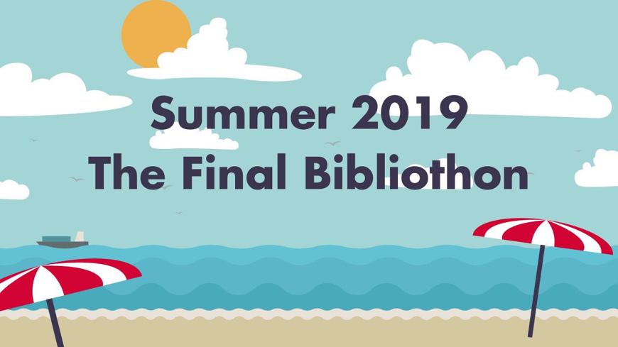Biannual Bibliothon TBR || 11th – 19th July