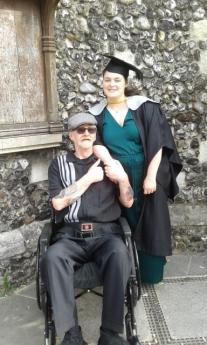 graduation dad photo 18.07.19