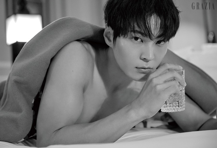 Joo Won || Grazia: After Sunset