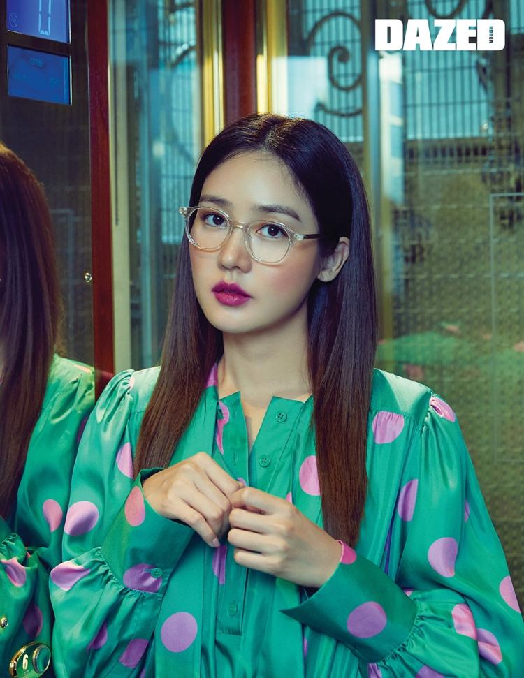 sung yuri dazed korea