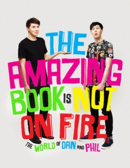 the amazing book is not on fire cover
