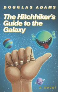 hitchhikers guide book cover