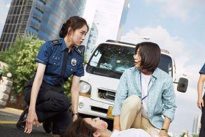 girl cops crash