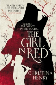 the girl in red cover