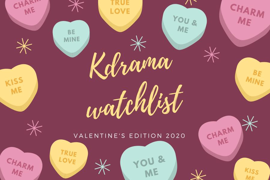 Rom Com Watchlist || Valentine's Edition♥