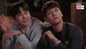 drunk ji wook and eun hyuk