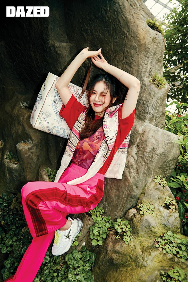 hyuna dazed
