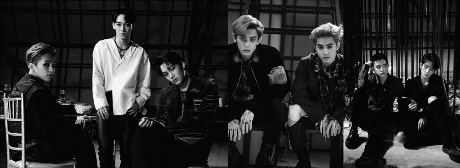 EXO Comeback Promo Looks || My Favourites♥