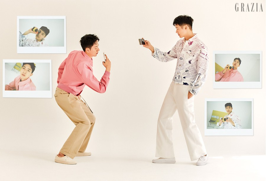 Jong Shin + Min Hyuk x Grazia Kr || May2020